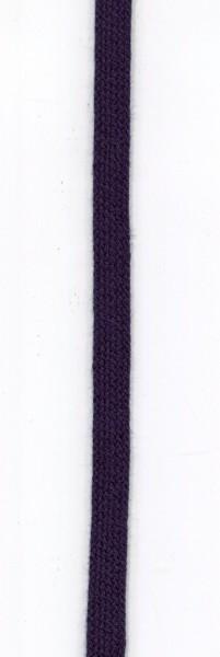 flache Baumwollkordel 10mm dunkelblau