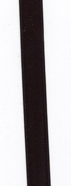 Doppelsatin 15mm schwarz