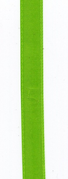 Doppelsatin 15mm apfelgrün