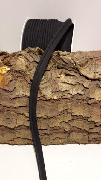 Paspel mit Kunststoffschnur, schwarz