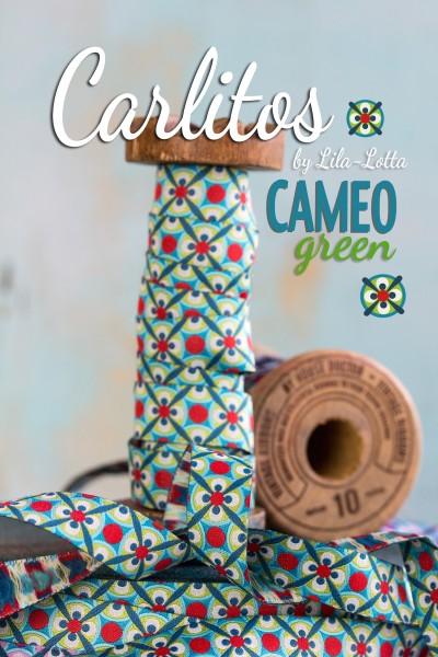 Carlitos CAMEO, blau - grün