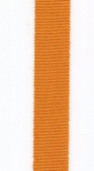 Ripsband 25mm orange