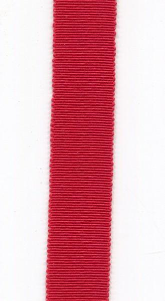 Ripsband 15mm rot