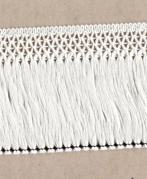 Fransen Baumwolle weiss 1019