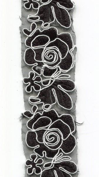 Organdy Stickerei 3389
