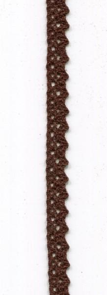 Klöppelspitze braun 3107