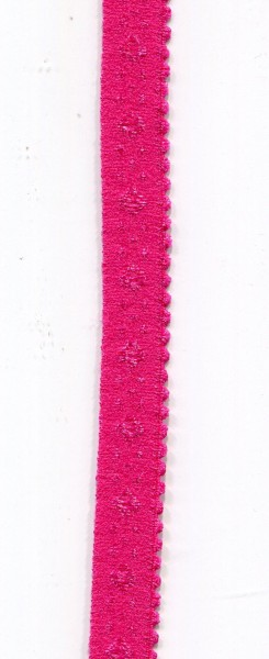 Unterwäsche Gummi Bias pink 1947