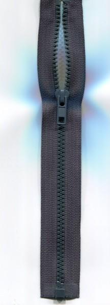 Jackenreißverschluss grün-grau