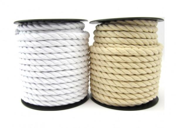 Baumwollkordel, gedreht, weiches Material, 14mm