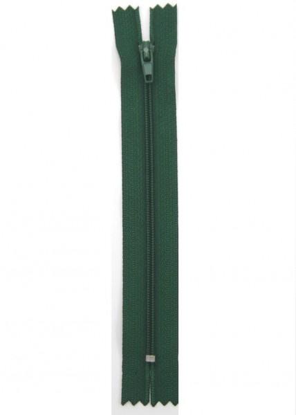 Reißverschluss nicht teilbar dunkelgrün