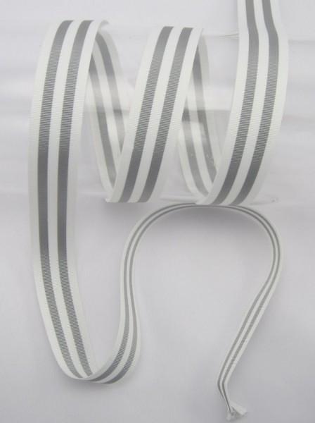 Streifenband, Ripsband, 25mm, 5 Farben