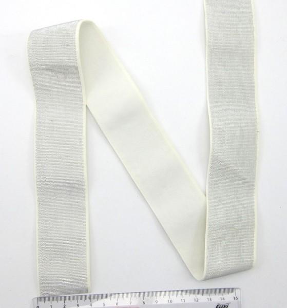 Gummiband mit silber oder gold, 40mm breit