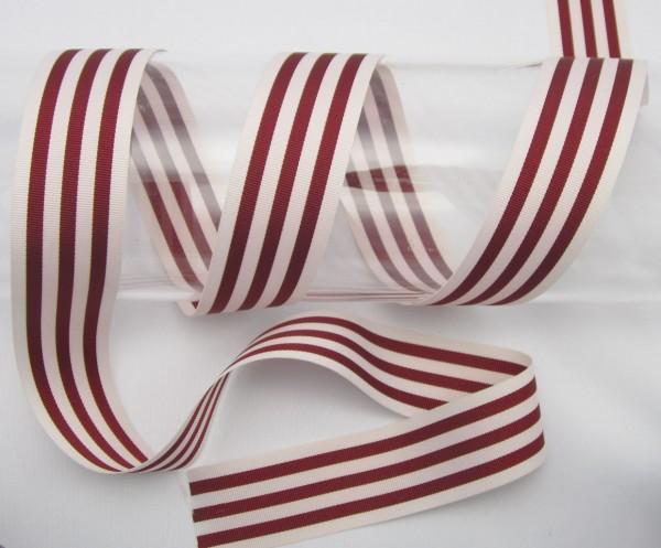 Streifenband, Ripsband, 35mm, 11 Farben