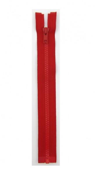 Jackenreißverschluss rot