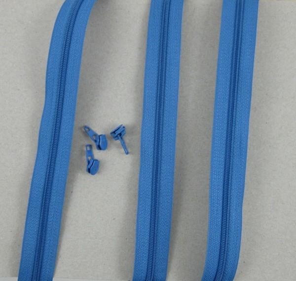 Endlosreißverschluß Gr. 4 jeansblau 6060