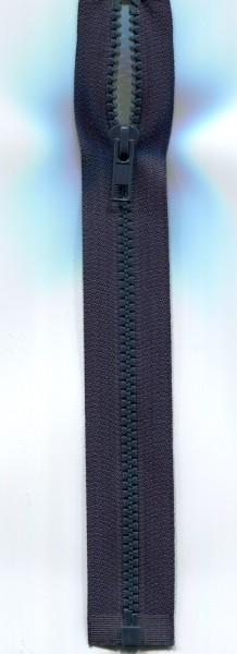 Jackenreißverschluss dunkelblau