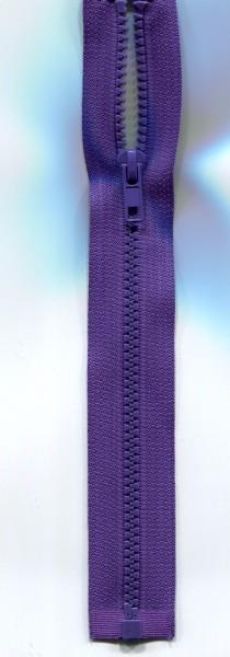 Jackenreißverschluss lila