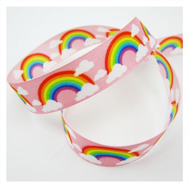 Alles wird gut, Regenbogen, mit formstabiler Kante, 25mm breit