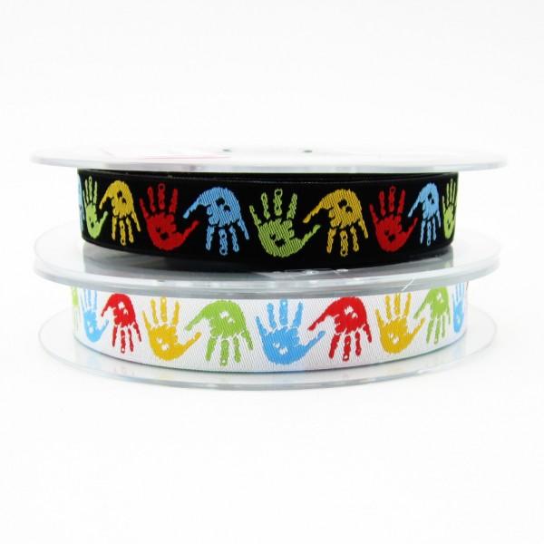 Hand Hände Webband
