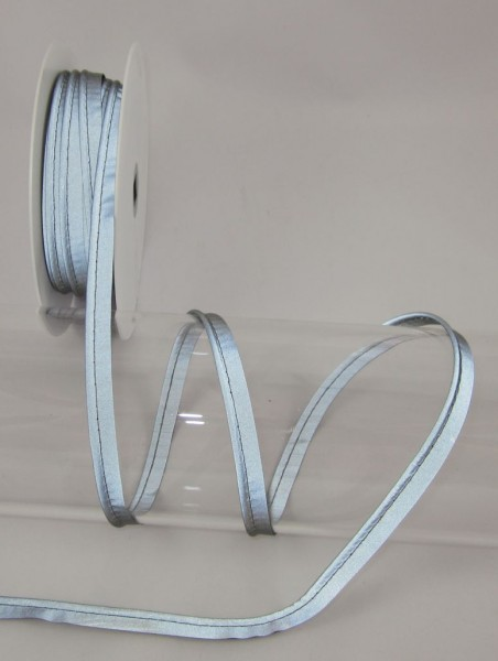 Paspel, reflektierend, grau, 10mm