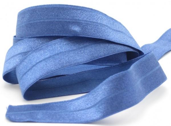 Elastisches Schrägband, Falzband, 22 Farben, 20/10mm