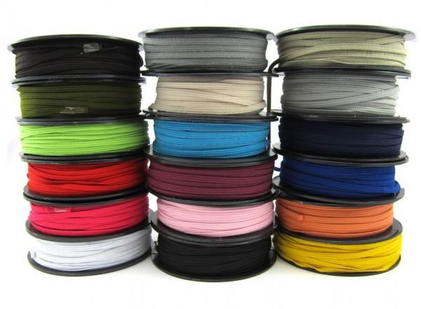 Gummiband 5mm breit, 19 Farben lieferbar