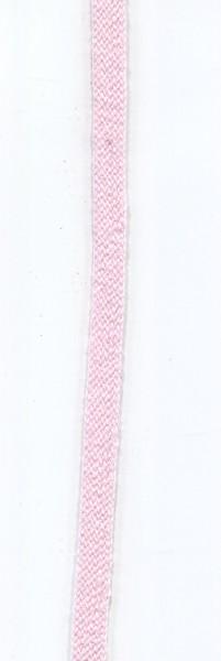flache Baumwollkordel 10mm rosa