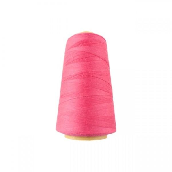 Overlockgarn, knallig pink