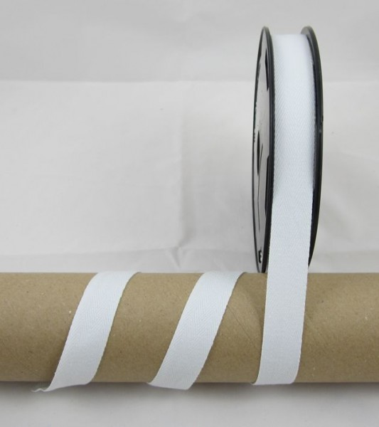 Baumwollband / Köperband 11mm