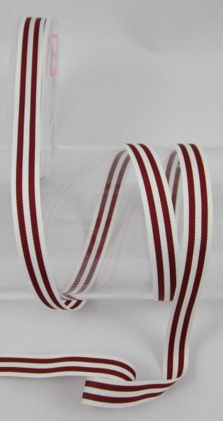 Streifenband, 15mm, 11 Farben lieferbar, Ripsband