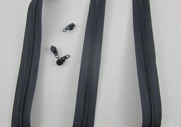 Endlosreißverschluß Gr. 4 schwarz 5460