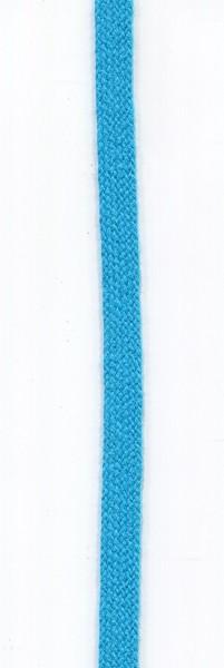 flache Baumwollkordel 10mm türkis