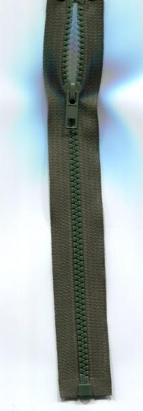 Jackenreißverschluss olivgrün