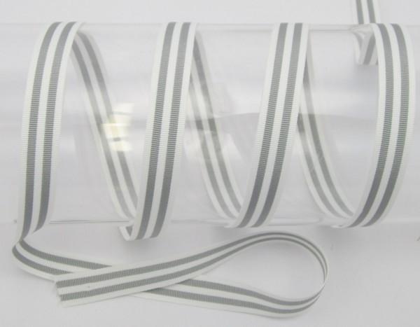 Streifenband, Ripsband, 15mm, 8 Farben
