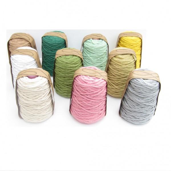 Baumwollkordel für Makramee, 5mm, 14 Farben zur Auswahl