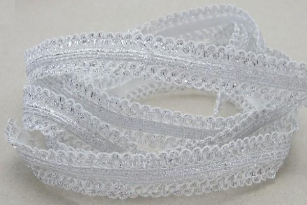 Spitze, elastisch, 4 Farben lieferbar, 15mm breit