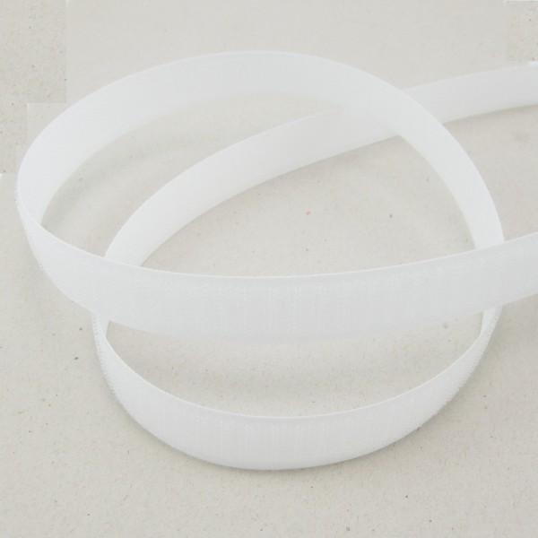Hakenband für Klettverschluß, selbstklebend, 20mm breit, weiß oder schwarz