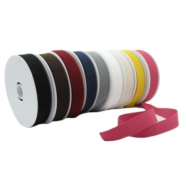 Baumwolle Ripsband 25mm breit