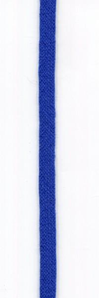 flache Baumwollkordel 10mm blau