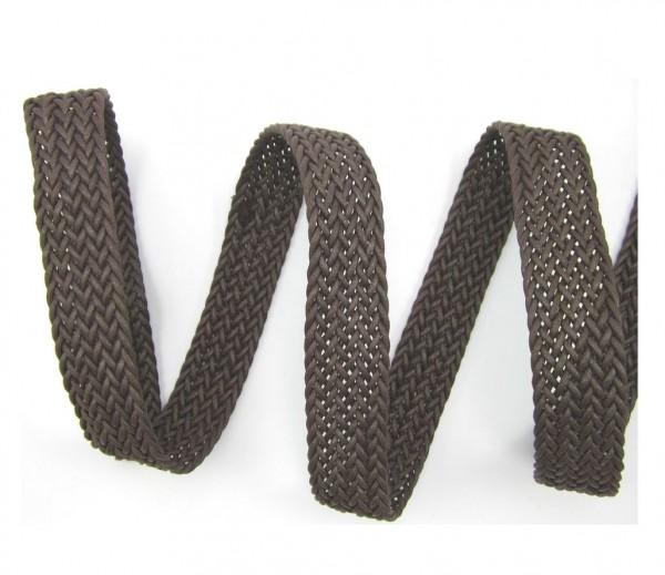 Gurtband geflochten Kunstlederoptik, Breite 30 mm, 7 Farben