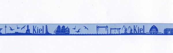 Kiel Skyline Webband blau/hellblau