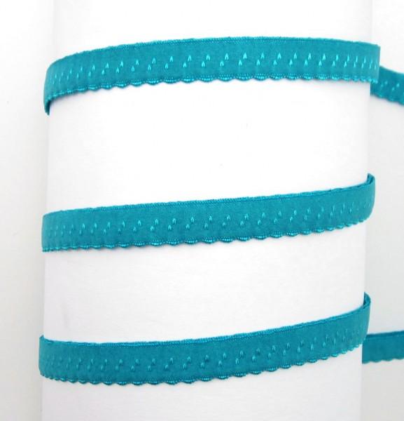 Schrägband elastisch, mit Muster, 34 Farben lieferbar