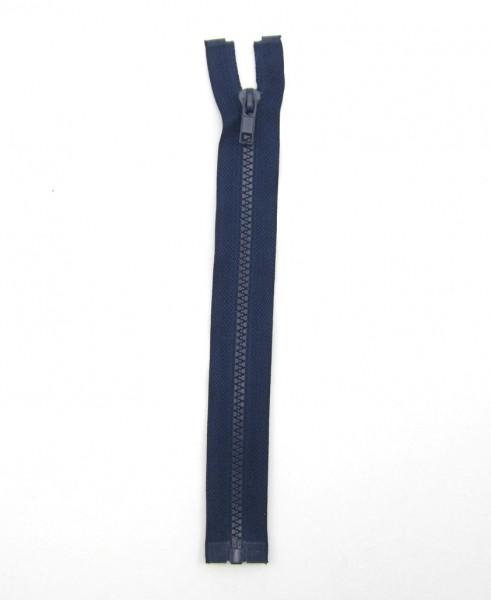 Jackenreißverschluss marineblau