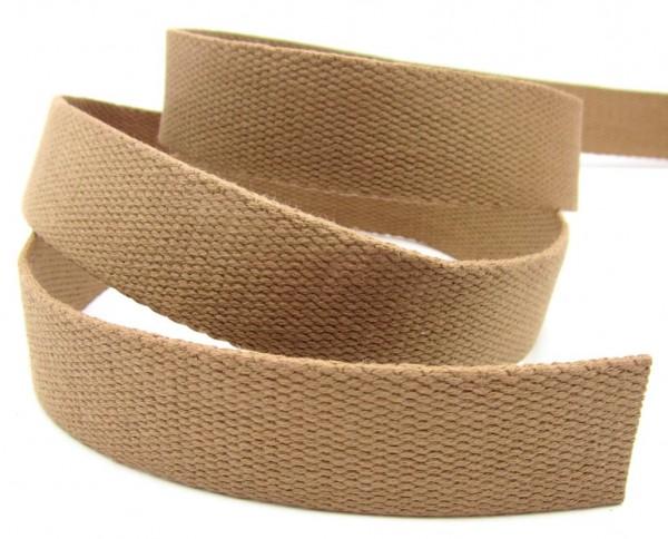 Gurtband, Baumwolle, 40mm breit, 22 Farben lieferbar