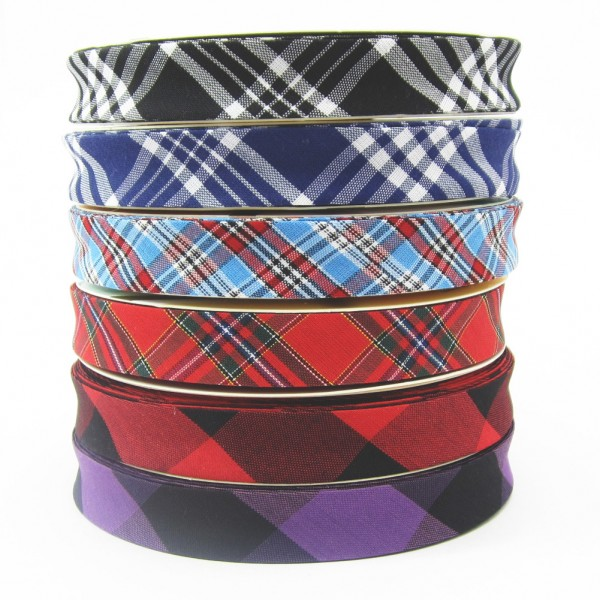 Schottenkaro Schrägband