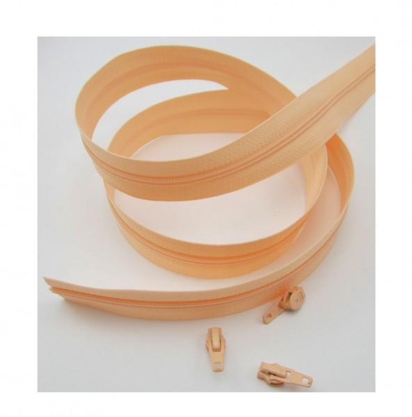 Endlosreißverschluss, 4mm Spirale - lachsrosa