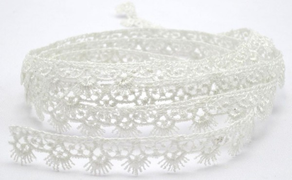Ätzspitze, weiß, glänzend, 14mm