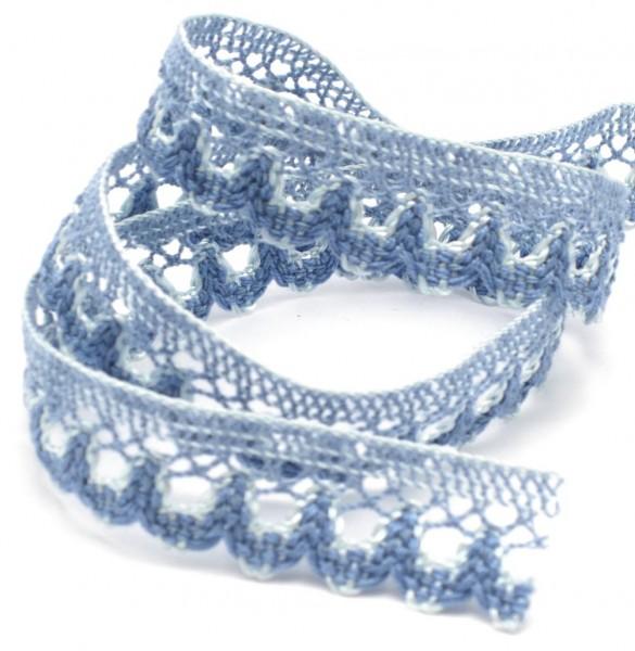 Baumwollspitze, regatta-blau, 20mm breit