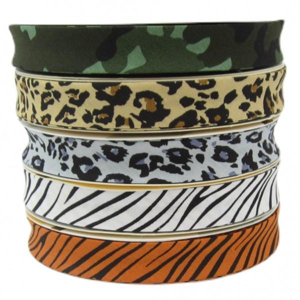 Militär Wildtiere Tarnmuster Schrägband, 18mm breit