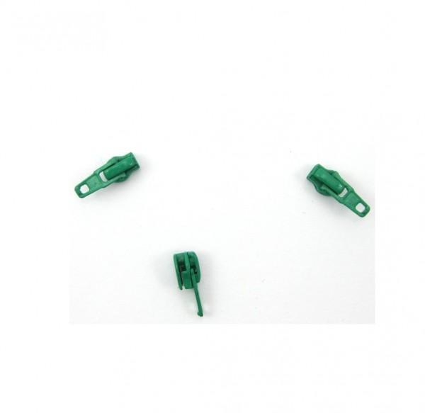 Schieber für Spiral Reißverschluss 4mm - minzgrün